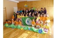 """""""Ąžuoliukui"""" – Žalioji vėliava"""