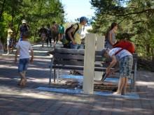 Prieš keletą dienų pastatytos vandens kolonėlės jau sulaukė palankaus žmonių įvertinimo.