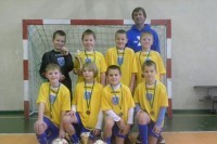 Jaunieji futbolininkai kalėdiniame turnyre liko treti
