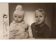 Šarūnas Vaitkus su seserimi Neringa