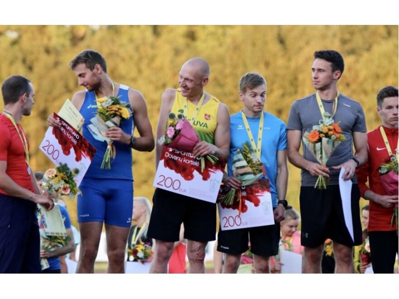 Lengvosios atletikos čempionate Palangoje įrašyti du rekordai