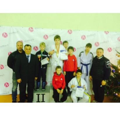 Pergalės tarptautiniame dziudo kalėdiniame turnyre