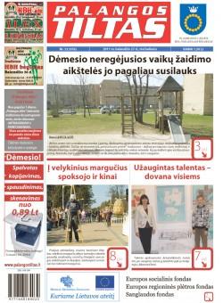 Palangos tilto laikraštis, Data: 2011-04-26, Numeris: 32 (976)