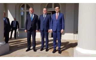 Palangoje susitiko Lietuvos ir Lenkijos premjerai