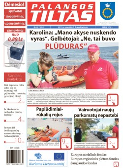 Palangos tilto laikraštis, Data: 2011-08-04, Numeris: 60 (1004)