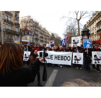 Istoriniame solidarumo žygyje Paryžiuje dalyvavo nuo 1,5 iki 2 mln. žmonių. Jean-Christophe Moncys nuotr.