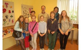 """""""Baltijos"""" mokyklos kūrybingieji atidarė savo parodą"""