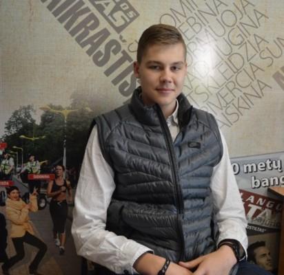Sunkaus darbo nesibaidantis jaunasis krepšininkas svajoja apie Eurolygą
