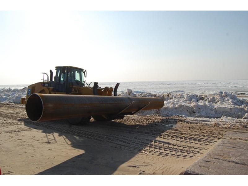 """Paplūdimio maitinimas smėliu: vienas kilometras """"suryja"""" 7 milijonus litų"""