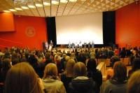 """Projekto """"Kuriame Respubliką: pilietinės visuomenės kompetencijų ugdymas"""" baigiamojoje konferencijoje – pagyros palangiškiams"""