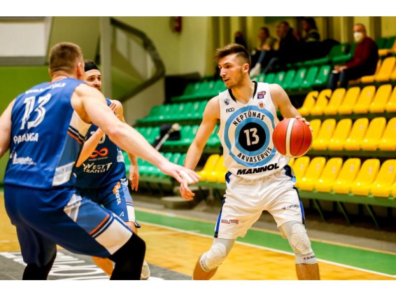 NKL nuotraukoje: Matas Baranauskas