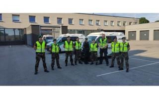 Palangoje startavo naujas šaulių paramos policijai projektas