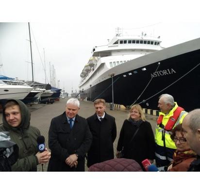 Klaipėdos uoste – ne tik kroviniai, bet ir kruiziniai laineriai