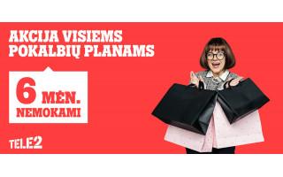 """Vasariški """"Tele2"""" pasiūlymai: nuolaidos pokalbių planams, laikrodžiams ir telefonams bei televizorius dovanų"""