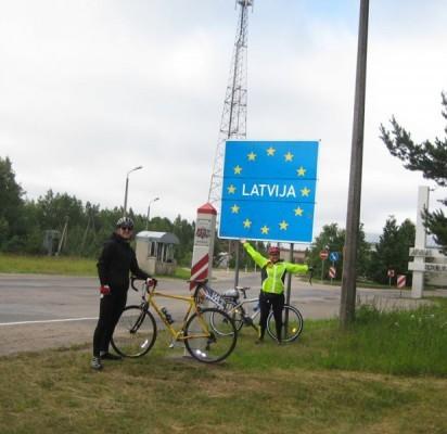 """Siena su Latvija """"perkirsta"""" sėkmingai."""