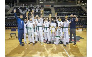 Palangiškiai Lietuvos Karate Kyokushin vaikų čempionate