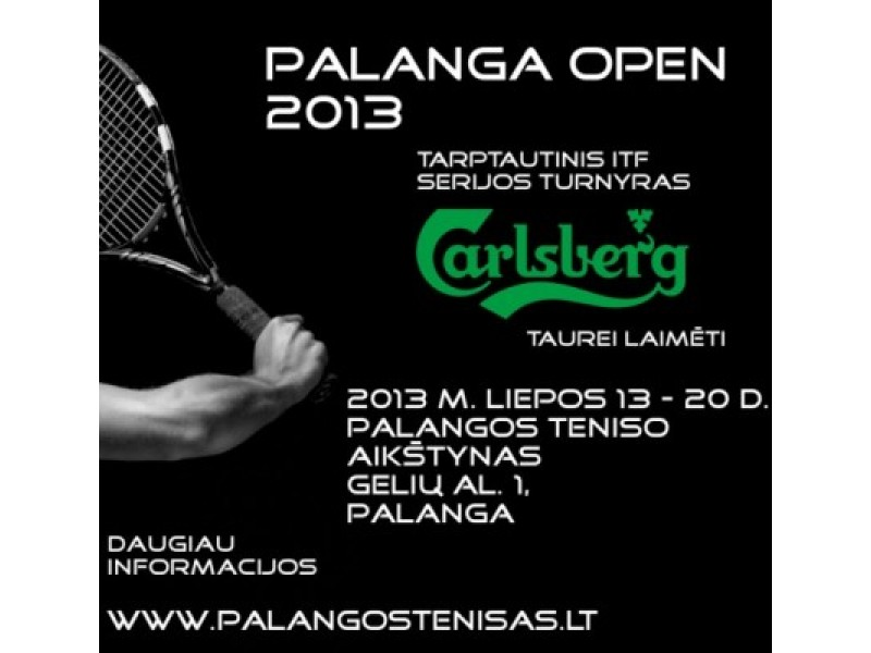 Palanga Open 2013 Carlsberg taurei laimėti