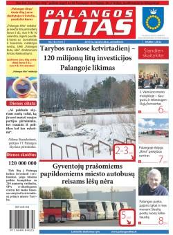 Palangos tilto laikraštis, Data: 2013-02-25, Numeris: 16 (1157)