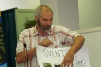 Šventosios seniūnaitis Ramutis Šeštokas negailėjo kritikos Palangos miesto savivaldybės vadovams.