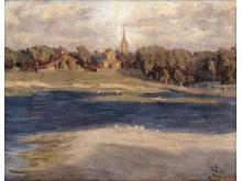 """""""Ronžės potvynis"""", 1921 m. Nuotrauka iš Ldm.lt"""