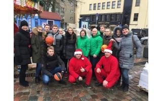 Palangiškiai dalyvavo Olimpinio komitete Kalėdų karavano