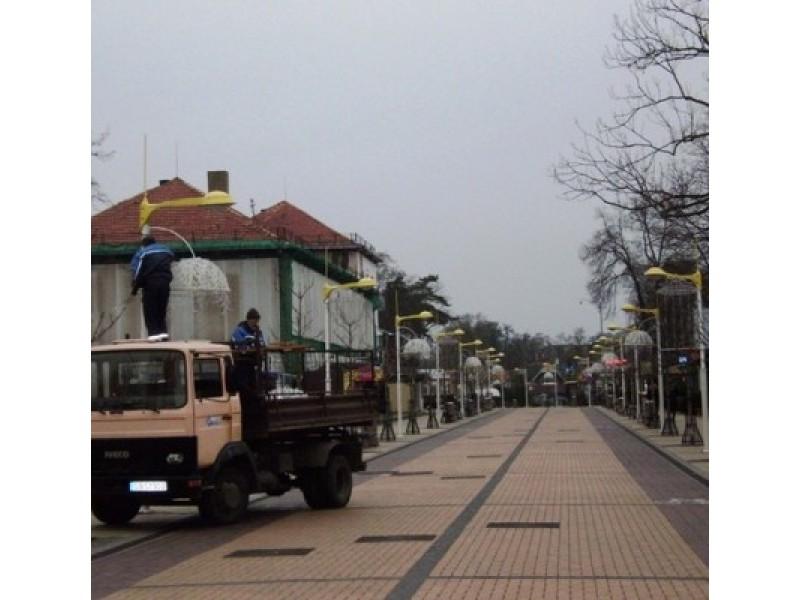 Kalėdų šviesos miestas Palanga nušvis ryškiau nei bet kada anksčiau