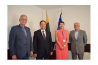 Palangos miesto savivaldybėje lankėsi Turkijos ambasadorius G. Turanas