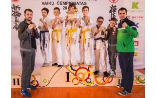 Palangiškių pergalės Lietuvos vaikų čempionate