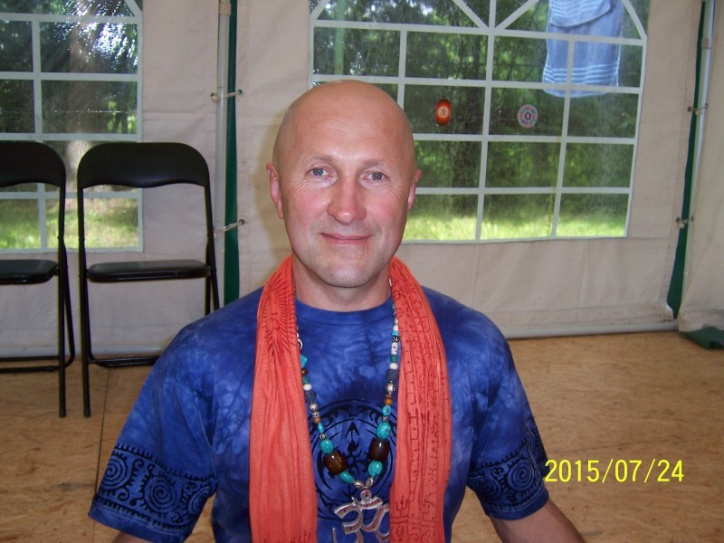 Jogos mokytojas Arūnas Dobilaitis (Jogananda)