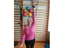 """Jolanda Narmontienė: """" Esu prisirašiusi sveikatos priežiūros centre Medvalakio gatvėje. Reabilitacines paslaugas anksčiau gaudavau Vydūno gatvėje 4 esančiame Psichofiziologijos ir reabilitacijos institute, bet perėjau čia ir labai džiaugiuosi: labai malon"""