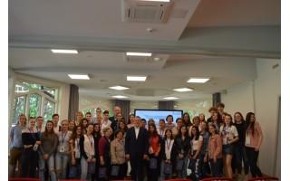 """""""Erasmus +"""" tarptautinio projekto """"DARE"""" dalyviai supažindinti su savivalda Palangoje"""