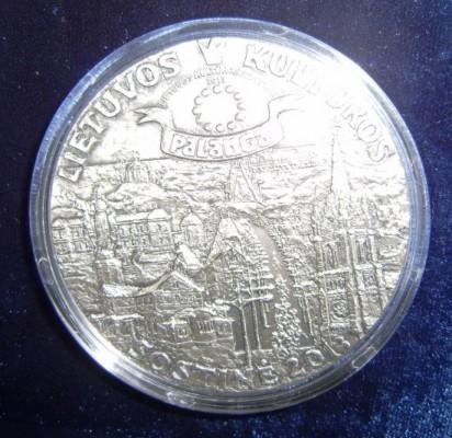 Palanga jau turi unikalų proginį medalį