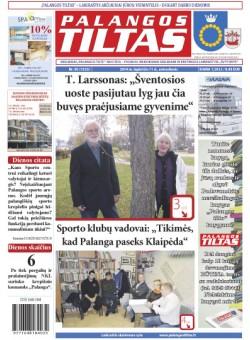 Palangos tilto laikraštis, Data: 2014-11-10, Numeris: 85(1323)