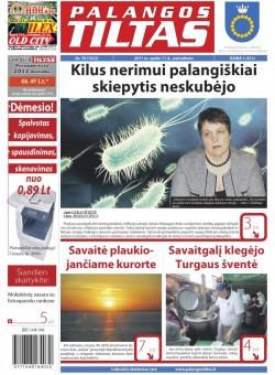 Palangos tilto laikraštis, Data: 2011-10-10, Numeris: 78 (1022)