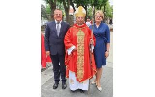 Savivaldybės vadovai dalyvavo naujojo Telšių vyskupo Algirdo Jurevičiaus  ingreso (teisės atvykti) ceremonijoje