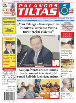 Palangos tilto laikraštis, Data: 2014-02-20, Numeris: 15 (1253)