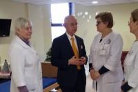 Seimo narys Antanas Vinkus aplankė Palangos socialines įstaigas