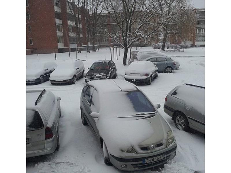 Į Lietuvą ateina šalčiai ir gausus sniegas