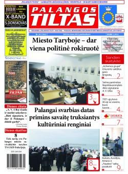 Palangos tilto laikraštis, Data: 2014-03-27, Numeris: 24(1262)
