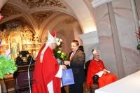 Telšių vyskupui J. Borutai – sveikinimai palangiškių ir šventojiškių vardu