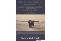 """Albumo """"Adolfas Ramanauskas Vanagas fotografijose"""" pristatymas"""