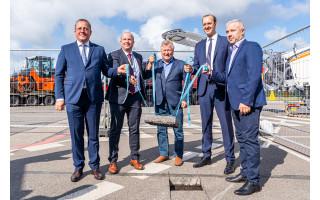 Susisiekimo ministras Marius Skuodis paskelbė oficialią Palangos oro uosto rekonstrukcijos pradžią (FOTO GALERIJA, PAPILDYTA MERO ŠARŪNO VAITKAUS KOMENTARU)