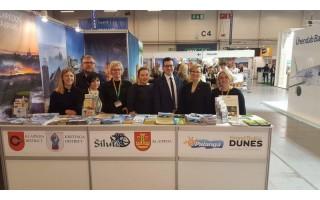 """Palanga pristatyta tarptautinėje turizmo parodoje """"TOUREST 2017"""" Taline"""