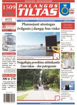 Palangos tilto laikraštis, Data: 2017-06-29, Numeris: 46(1577)