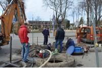 Vandentiekio trasos rekonstrukcija Vytauto gatvėje didelių nepatogumų gyventojams nesukels