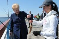 """Prezidentė Dalia Grybauskaitė: """"Stintos man kvepia pavasariu"""""""