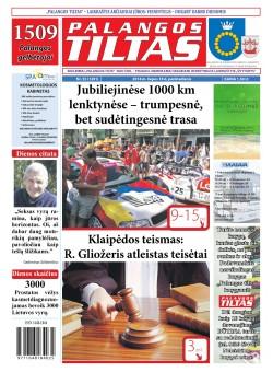 Palangos tilto laikraštis, Data: 2014-07-17, Numeris: 53(1291)