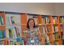 Vyr. bibliotekininkė Laima Jakevičienė mano, kad tėvai turėtų kuo daugiau  kartu skaityti su savo vaikais.