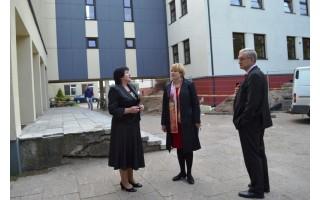 V. Jurgučio pagrindinės mokyklos renovacija artėja prie pabaigos