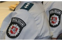 Palangoje sulaikomas įtariamasis smogė policijos mokyklos pareigūnui